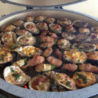 Oysters Rockefeller - Big Green Egg