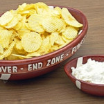 Packers Chips and Dip Appetizer