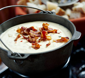 Jack Cheese Fondue